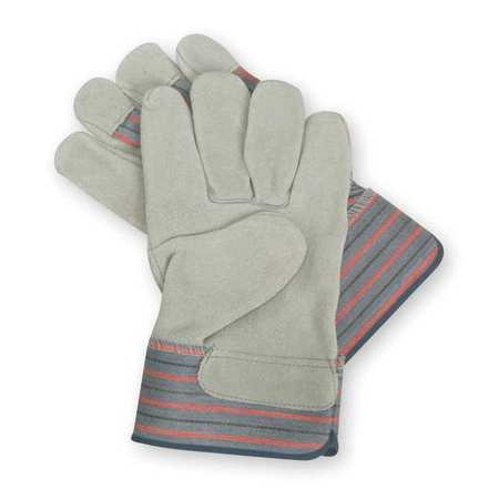 Leather Gloves, Patch Palm, 2XL, PR