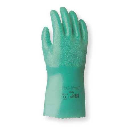 """Chemical Resistant Glove, 12"""" L, Sz 8, PR"""
