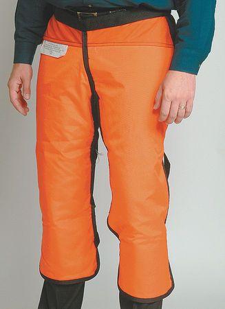 Chain Saw Chap,  M/L,  Orange