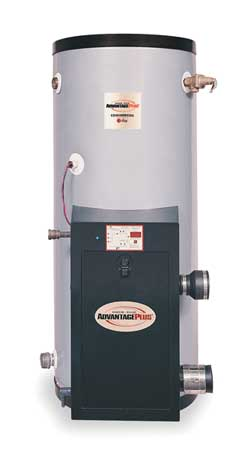 119 gal. Commercial High Efficiency Gas Water Heater,  NG,  199000 BtuH