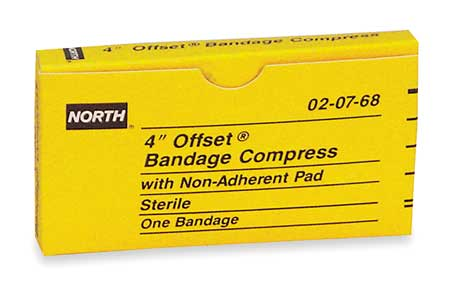 Gauze Compress, 4In, NonAdhrnt, Unitized