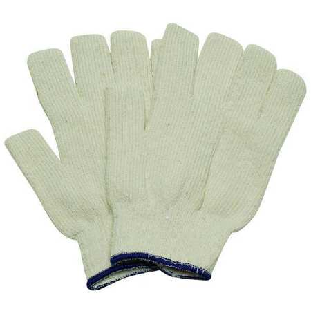 Heat Resistant Gloves, White, Men's S, PR