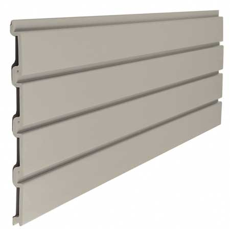 Slat Wall, H 12, W 48, Tan, PK6