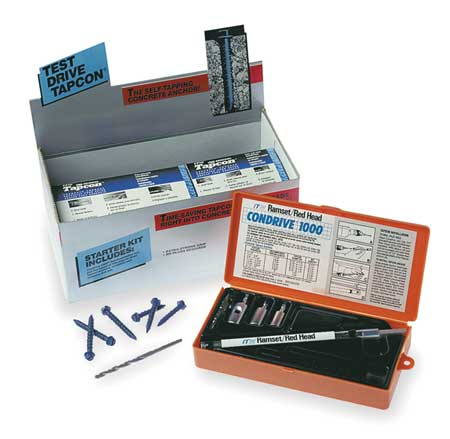 Masonry and Concrete Anchoring Kits