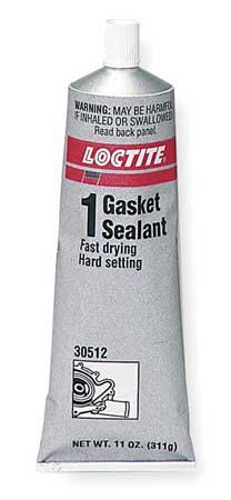 Gasket Sealant, 7 fl oz Tube, Brown