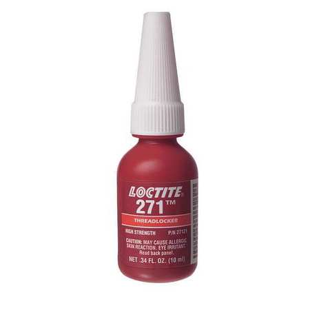 Threadlocker 271, 10mL Bottle, Red