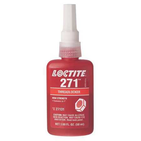 Threadlocker 271, 50mL Bottle, Red