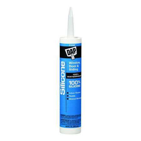 Rubber Sealant, 9.8 oz., Clear