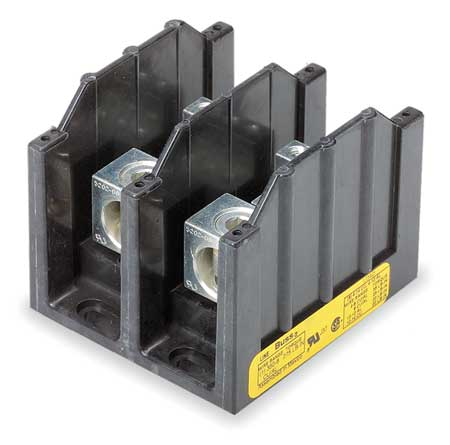 Pwr Dist Block, 310A, 2P, 6P Secondary, 600V