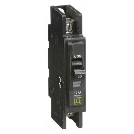 1P Standard Circuit Breaker 20A 120/240VAC