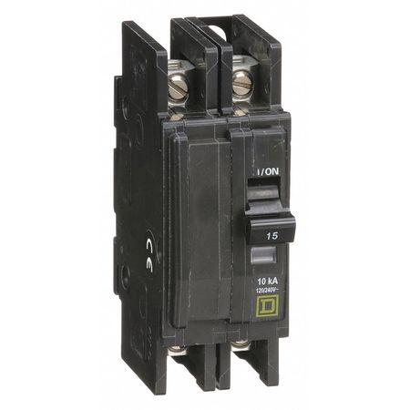 2P Standard Circuit Breaker 15A 120/240VAC