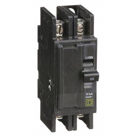 2P Standard Circuit Breaker 20A 120/240VAC