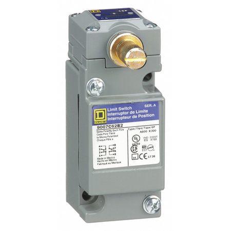 2NC/2NO Heavy Duty Limit Switch Rotary Head IP 67