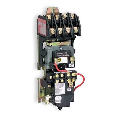 120VAC Mechanically Held Lighting Contactor 10P 30A