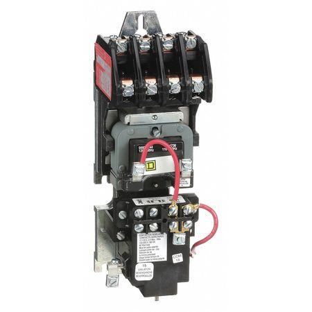 120VAC Mechanically Held Lighting Contactor 4P 30A
