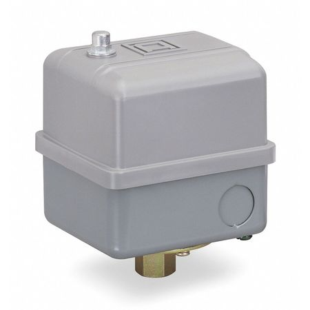 Pressure Switch, Reverse, 5 to 80 psi, DPST