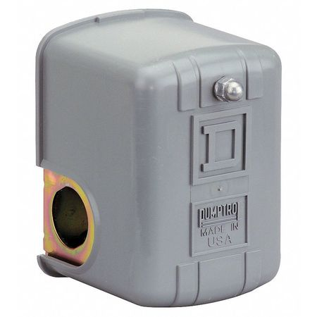 Pressure Switch, Diaphrgm, DPST, 80/100 psi