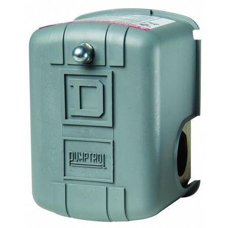 Pressure Switch, DPST, 20/40 psi, Diaphragm