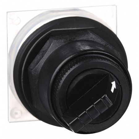 Non-Illum Selector Swtch, 30mm, 2 Pos, Levr
