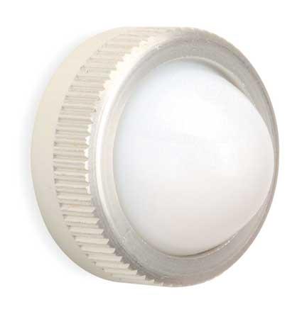 Pilot Light Lens, 30mm, White, Glass