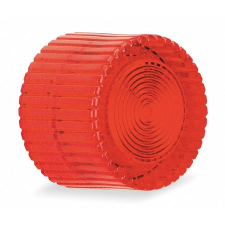 Push Button Cap, Illuminated, 30mm, Red