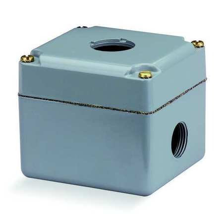 Pushbutton Enclosure, 30mm, 3 Holes, Al