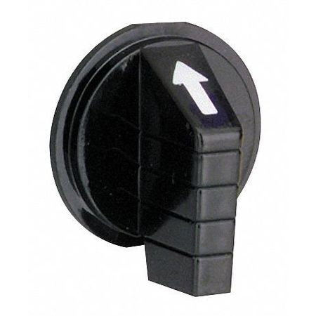 Selector Switch Knob, Lever, Black, 30mm