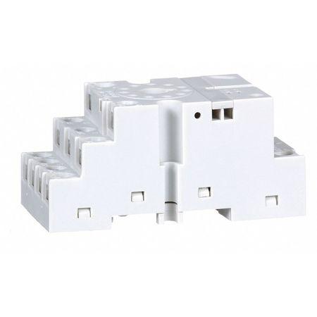 Relay Socket, Standard, Octal, 11 Pin, 16A