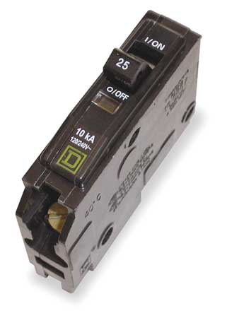 1-Pole QO PlugIn Circuit Breakers