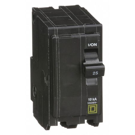 Qwik-Open 2P Standard Plug In Circuit Breaker 25A 120/240VAC