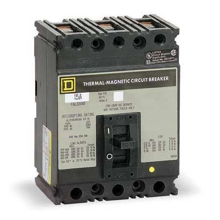 3P Standard Circuit Breaker 15A 240VAC
