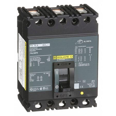 3P Standard Circuit Breaker 70A 480VAC