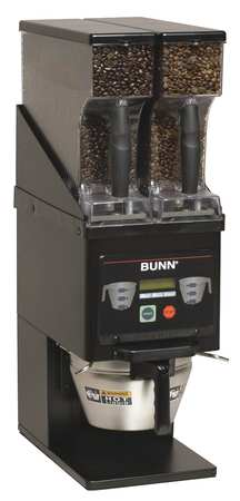 Multi-Hopper Coffee Grinder, Black