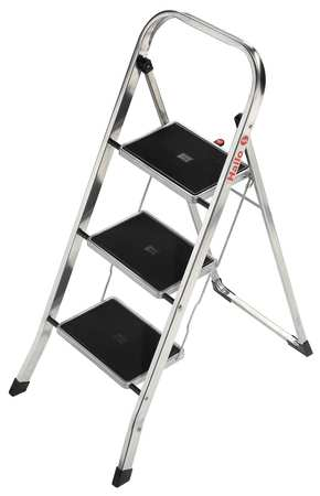 Household Step Stool, 330 lb., 11-7/8 In W