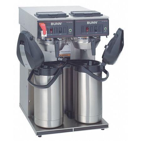 Dual Airpot Coffee Brewer, 15 gal/hr