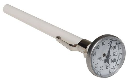 Dial Pocket Thermometer, 5 In L