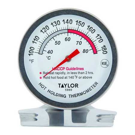 Analog Mechanical Food Service Thermometer with 100 to 180 (F)
