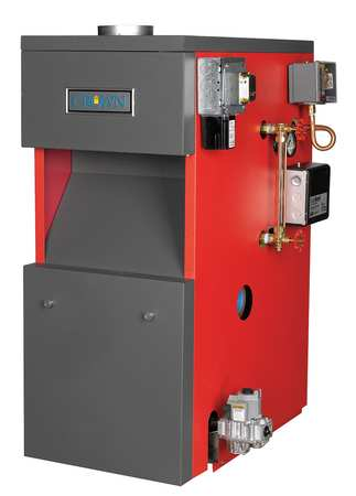 Crown Boiler Co. Atmospheric Vent Steam Boiler, NG BSI172ENPZZPSU ...