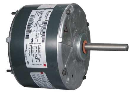 Mtr, PSC, 1/6 HP, 1075 RPM, 208-230V, 48, TENV