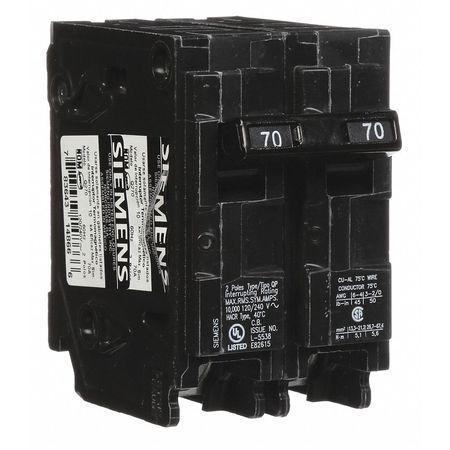 2P Standard Plug In Circuit Breaker 70A 120/240VAC