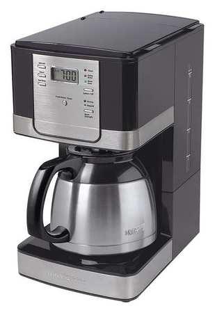 Stainless Steel Coffee Maker No Plastic Parts : Mr. Coffee Coffee Maker, 8 Cup, Plastic/Stainless Steel JWTX95 Zoro.com
