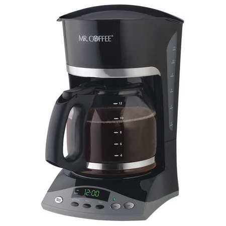 Coffee Maker,  12 Cup,  Plastic/Glass