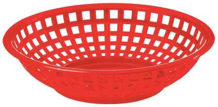 Basket,  Round, Red, PK36