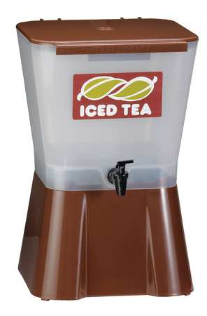 Beverage Dispenser, 3 Gal, Brown