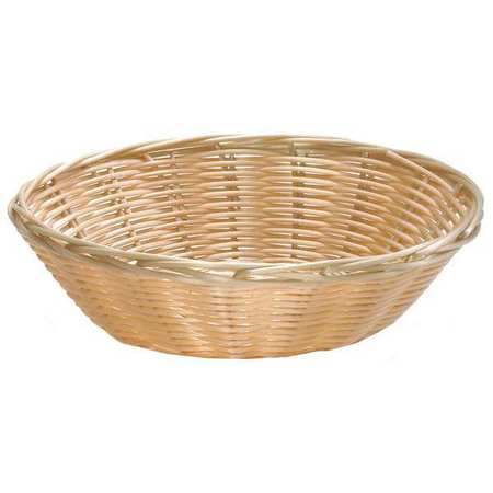 Handwoven Basket, Round,  Natural, PK12