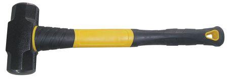 Sledge Hammer, 4 lb., 14 In, Fiberglass