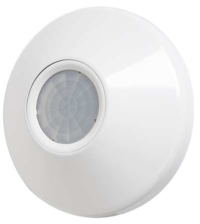 Occupancy Sensor, PIR, 2800 sq ft, White