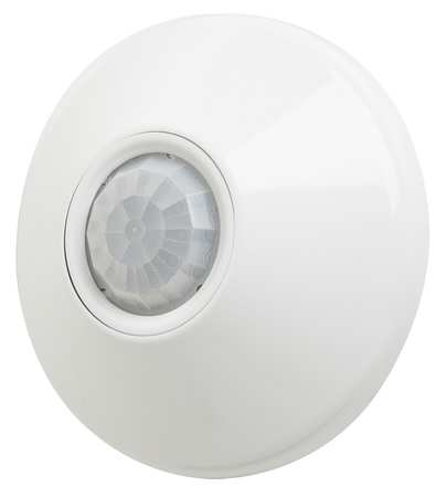 Occupancy Sensor, PIR, 500 sq ft, White