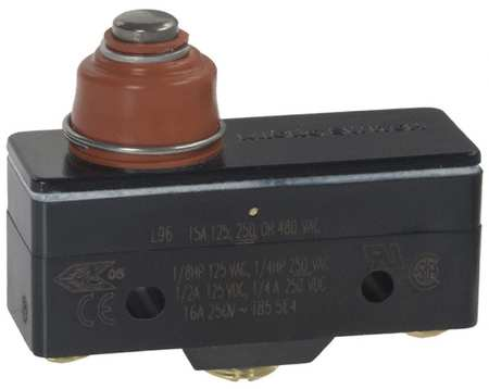 Large Basic Snap Action Switch Roller Plunger 15A 125VAC