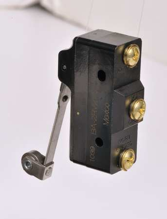 Lg Snap Switch, 20A, SPDT, Roller Lever
